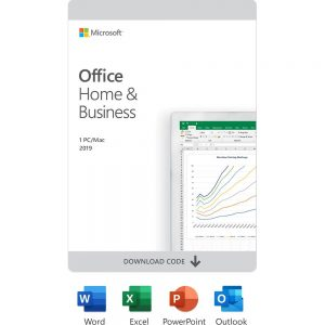 Microsoft Office Home & Business 2019 (1 Users) - [Digital]